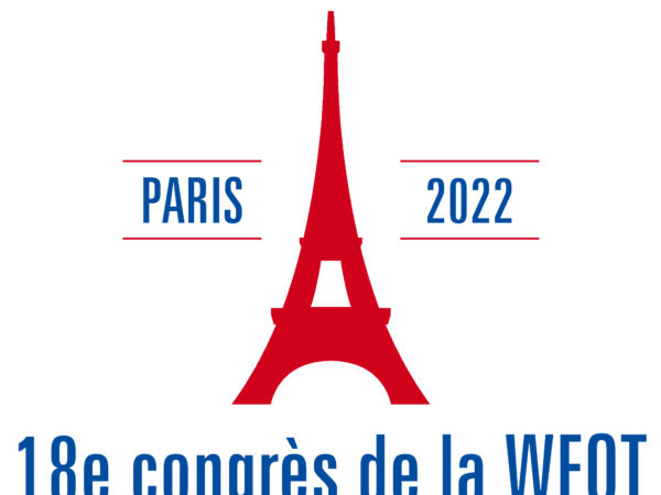 WFOT Congress 2022 Logo with Dates French