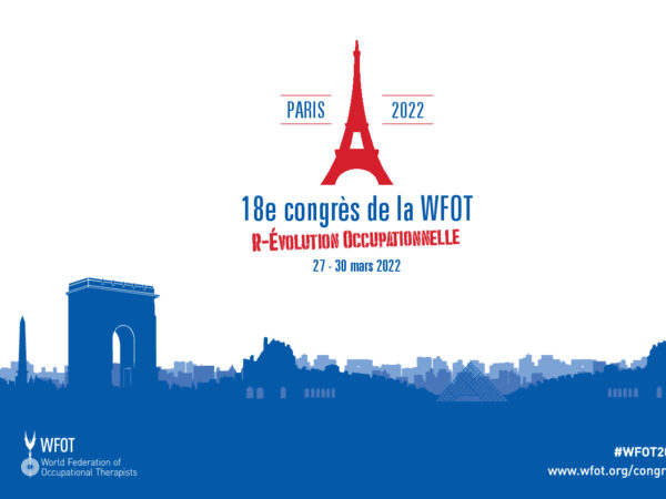 WFOT Congress A3 Poster Landscape French
